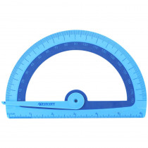 ACM14371 - Microban Kids Soft Touch Protractor in Drawing Instruments
