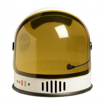 AEAASHELMET - White Nasa Astronaut Youth Helmet in Role Play