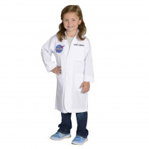 AEALRS46 - Rocket Scientist Lab Coat Size 4-6 in Role Play