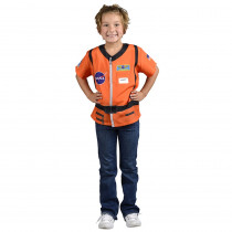 AEATASO - My 1St Career Gear Orange Astronaut Top One Size Fits Most Ages 3-6 in Role Play
