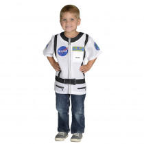 AEATASW - My 1St Career Gear White Astronaut Top One Size Fits Most Ages 3-6 in Role Play