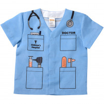 AEATDDB - My 1St Career Gear Blue Doctor Top in Pretend & Play