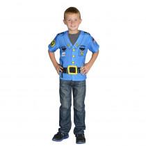 AEATPOL - My 1St Career Gear Police Top One Size Fits Most Ages 3-6 in Role Play