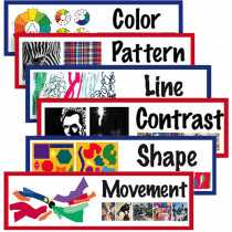 AEPCP1823 - Elements Of Art Display Cards in Art Lessons