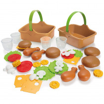 AEPDT7030 - My Green Garden Picnic Set in Play Food