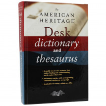 AH-9780544176188 - The American Heritage Desk Dictionary And Thesaurus in Reference Books