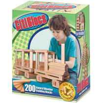 ALE0BCTBSL200 - Citiblocs Natural 200Pc Set in Blocks & Construction Play
