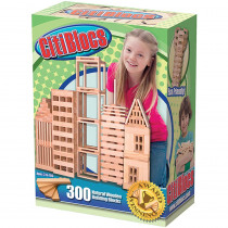 ALE0BCTBSL300 - Citiblocs Natural 300Pc Set in Blocks & Construction Play