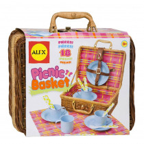 ALE708N - Pretend Picnic Basket in Play Food