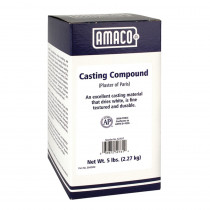 AMA52761T - Plaster Of Paris 5 Lb. in Casting Compounds