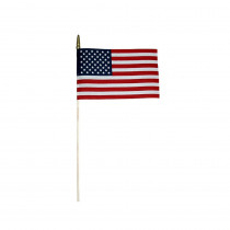 ANN041200 - American Flag 8 X 12 in Flags