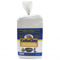 API205 - Celluclay Bright White 5 Lb Package in Clay & Clay Tools