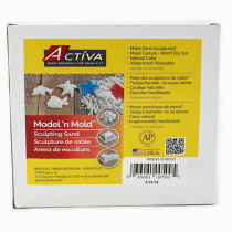 API500 - Activa Beach Sand 3 Lb Box in Sand & Water