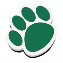 ASH10001 - Magnetic Whiteboard Eraser Green Paw in Whiteboard Accessories