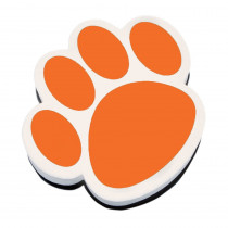ASH10006 - Magnetic Whiteboard Eraser Orange Paw in Whiteboard Accessories