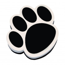 ASH10017 - Magnetic Whiteboard Eraser Black Paw in Whiteboard Accessories