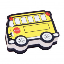 ASH10018 - Magnetic Whiteboard Eraser School Bus in Whiteboard Accessories