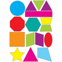 ASH10065 - Math Die Cut Magnets Shapes in Geometry