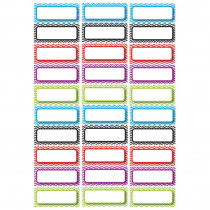 ASH10077 - Die Cut Magnets Assorted Color Chevron Nameplates in Name Plates