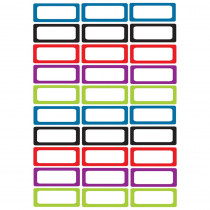 ASH10078 - Die Cut Magnets Assorted Solid Color Nameplates in Name Plates