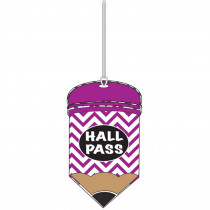 ASH10445 - Chevron Pencil Hall Pass in Hall Passes