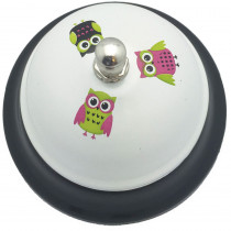 ASH10513 - Decorative Call Bells Owls in Bells