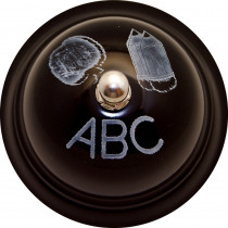 ASH10519 - Decorative Call Bell Abc Chalkboard in Bells