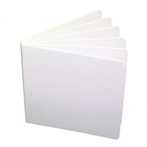 ASH10705 - White Hardcover Blank Book 11X8-1/2 in Note Books & Pads