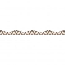 ASH11118 - Big Magnetic Border Choco Chevron in Border/trimmer