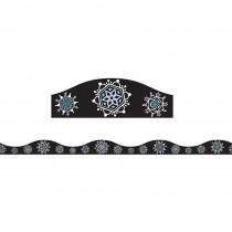 ASH11140 - Magnetic Border Snowflakes 1.5 W Seasonal in Border/trimmer