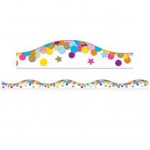 ASH11143 - Magnetic Confetti Scallop Border 6 Pcs in Border/trimmer