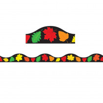ASH11417 - Magnetic Border Fall Leaves 1W Seasonal in Border/trimmer