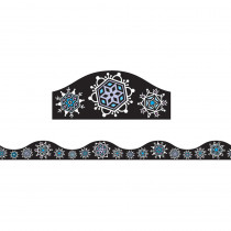 ASH11418 - Magnetic Border Snowflakes 1W Seasonal in Border/trimmer