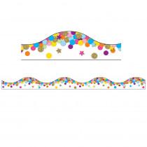 ASH11421 - Confetti Magnetic Border 12 Feet in Border/trimmer