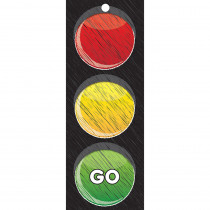 ASH13000 - Traffic Light Card Stop Go 3X9 Laminated in Card Games
