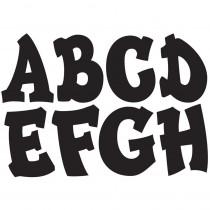 ASH17011 - Black Modern Hip 2-3/4In Designer Magnetic Letters in General