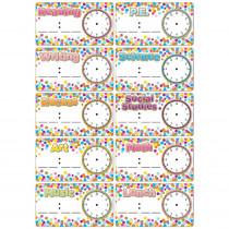 Die-Cut Magnets, Confetti Schedule Cards - ASH19009 | Ashley Productions | Classroom Management