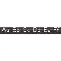 ASH19019 - Scribble Chalk Manuscript Magnetic Alphabet Line Large in General
