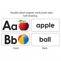 ASH40006 - Abc Picture Words Double Sided Magnets in General