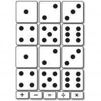 ASH40012 - Foam Math Manipulatives Dice in Dice