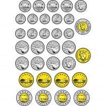 ASH40017 - Money Foam Manipulatives Can Coins in Money