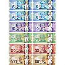 ASH40018 - Money Foam Manipulatives Can Dollar in Money