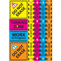 ASH77023 - Do Not Erase Magnetic Mini Bulletin Board Set in Classroom Theme