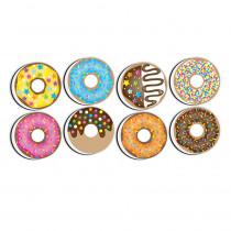 Non-Magnetic Mini Whiteboard Erasers, DonutFetti, 8-Pack - ASH78009 | Ashley Productions | Erasers