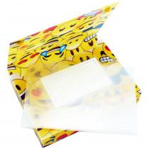 ASH90353 - 5 Pk Index Card Holder 3X5 Emojis in Storage