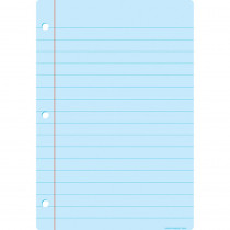 ASH91030 - Smart Notebook Page Lt Blue Chart Dry-Erase Surface in Classroom Theme
