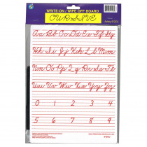 ASH912CU - Traditional Cursive Write-On Wipe-Off Board 9 X 12 in Dry Erase Boards