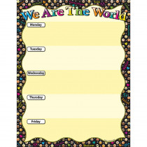 ASH92007 - We Are World Emoji 17X22 Smart Cht Poly in Social Studies