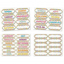 ASH94902 - 4 Pk Confetti Magnetic Timesavers in Organization