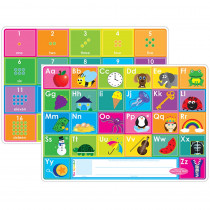 ASH95020 - Abc&Numbers 1-20 Learn Mat 2 Sided Write On Wipe Off in Numeration